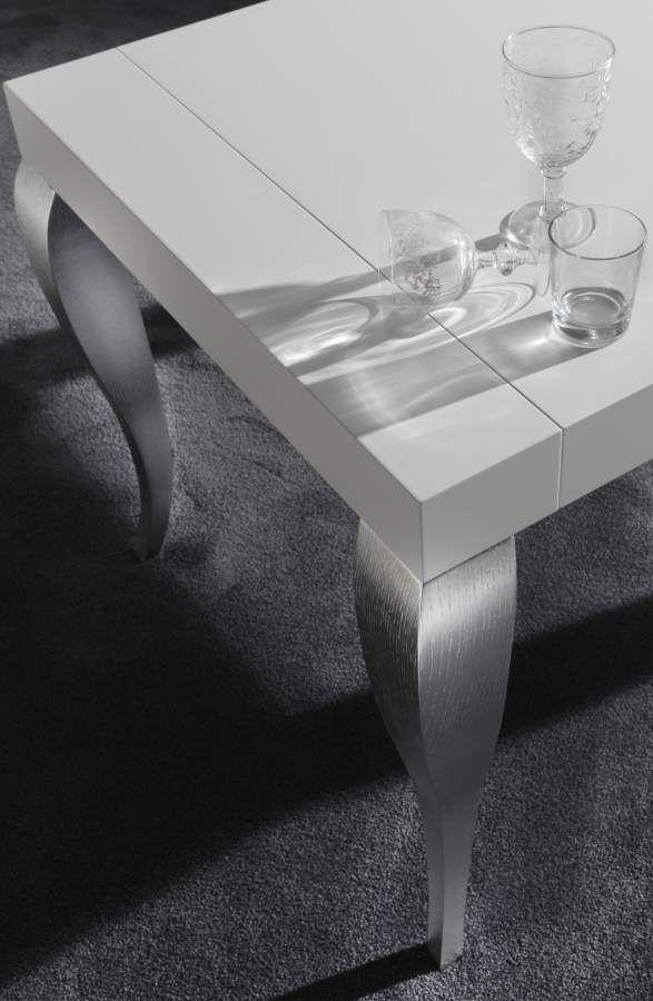 Modern wooden table Timoteo | milanomondo