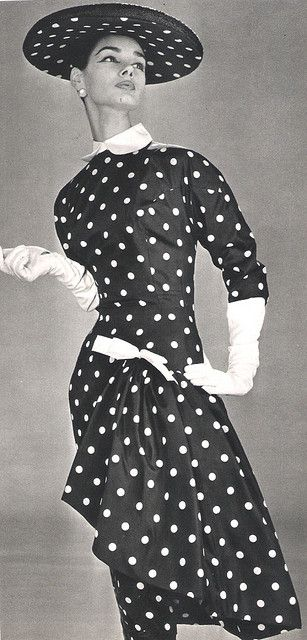 Polka Dot Couture Polka Dots Fashion Vintage Fashion Fashion