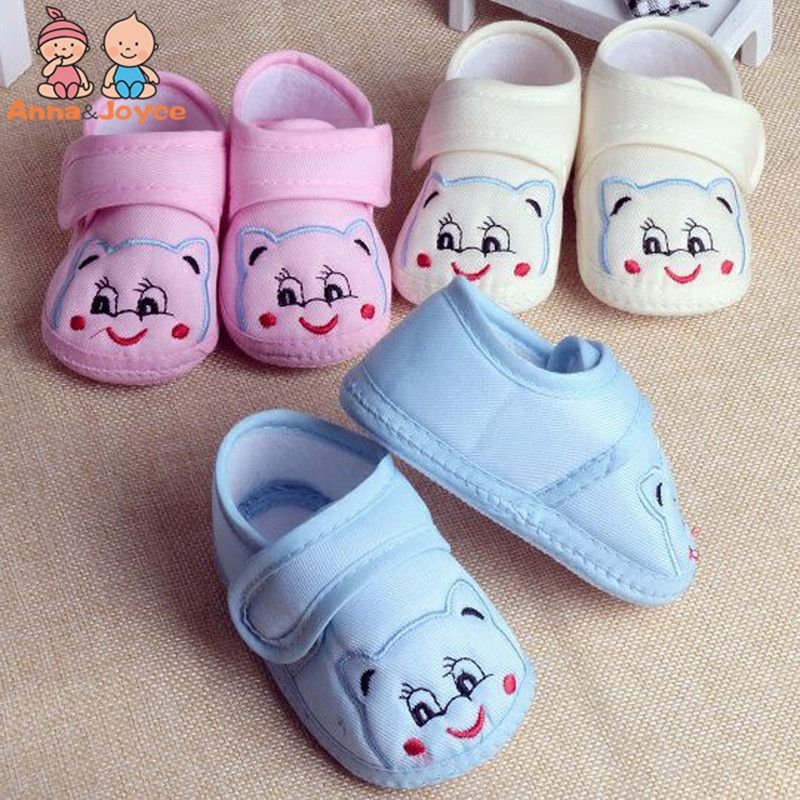 >> Click to Buy << New Fashion 0-12M Cotton Baby Kitten Cartoon Toddler Shoes Breathable and Comfortable Soft-soled Shoes TWS0202 #Affiliate