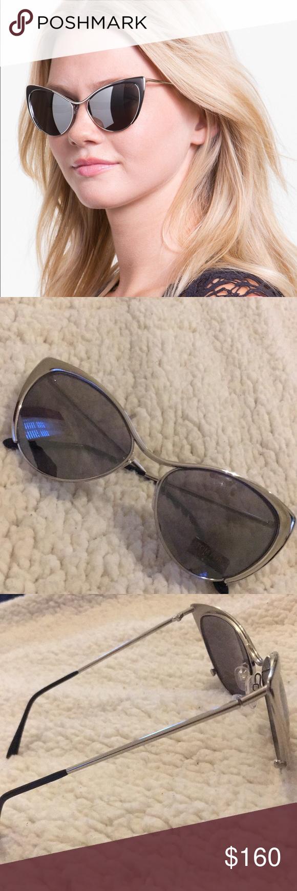f22daca007c Tom Ford Nastasya Sunglasses Silver Metallic sunglasses