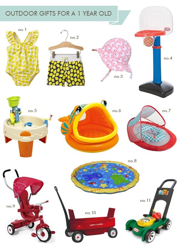 Outdoor Gifts For A 1 Year Old Hellobee Gifts Babies
