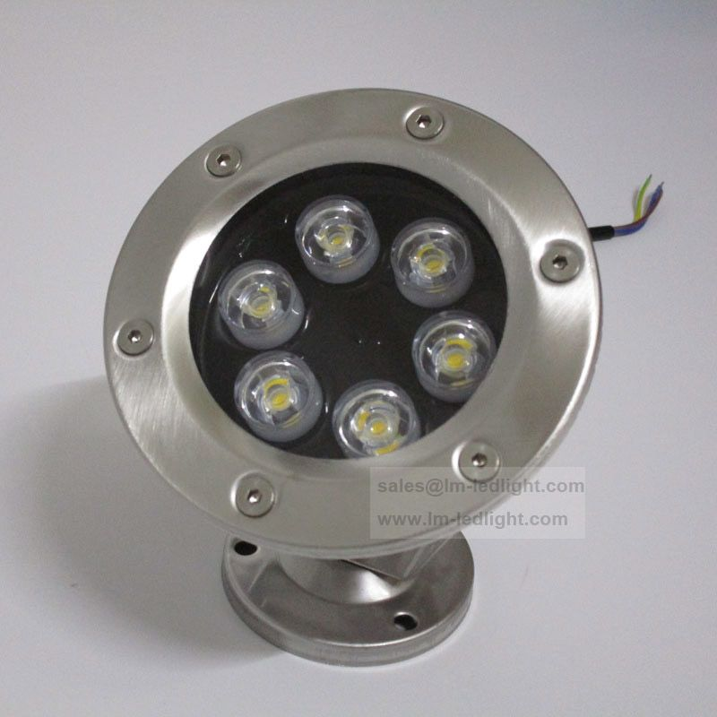 Ip68 Waterproof 6w Led Pool Lighting Fixture 12v 24v 85 265v For Alternative Stainless Steel Lamp Housing Led Pool Lighting Underwater Lights Waterproof Led