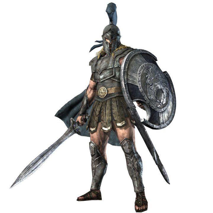 Warriors Orochi Ares: Guerrero Espartano, Guerreros