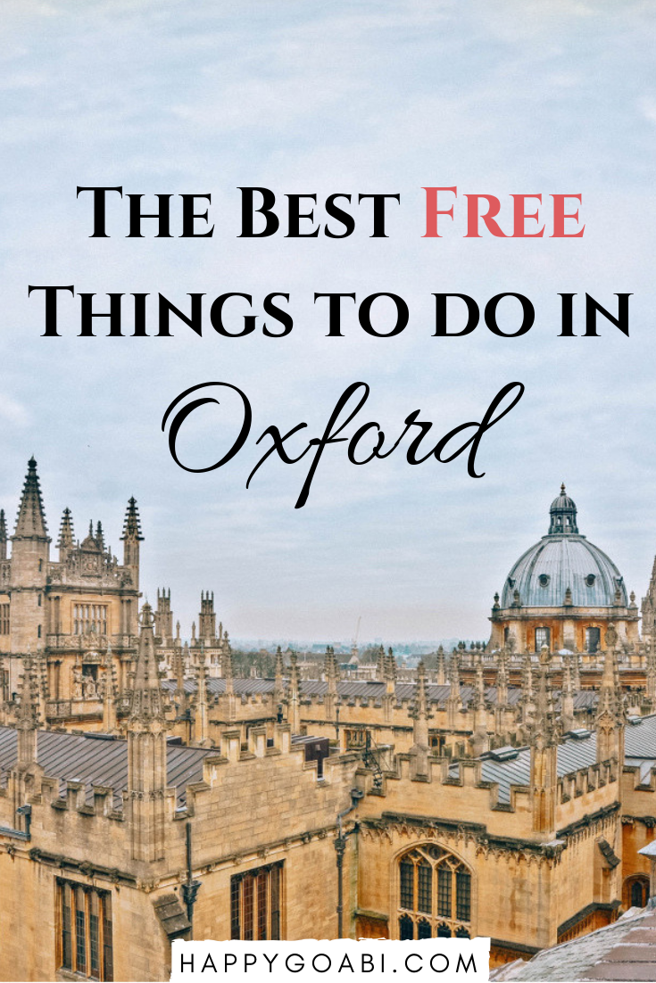 what to do in oxford for free