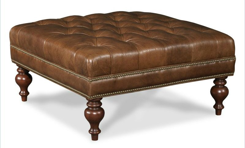 36 Top Brown Leather Ottoman Coffee Tables Tufted Ottoman Coffee