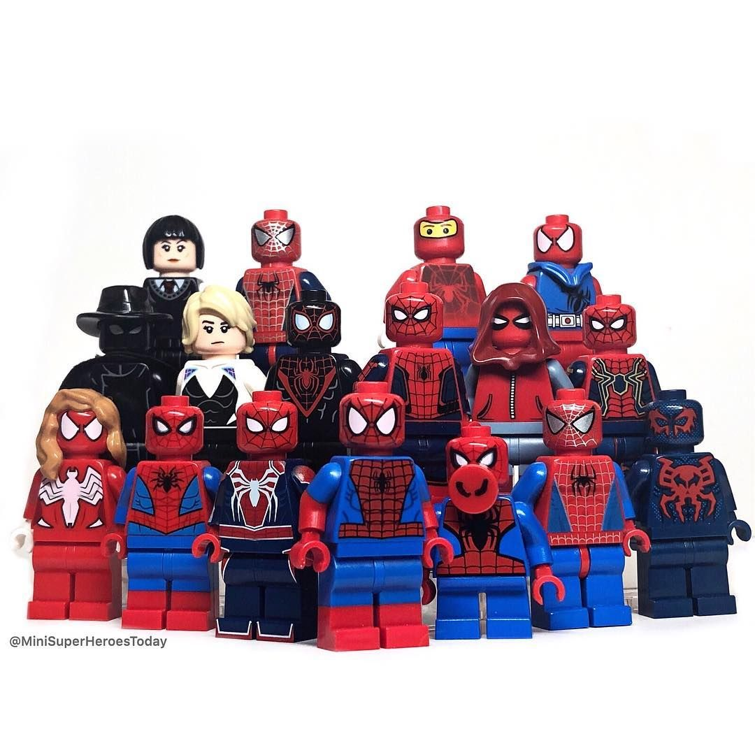 Marvel Spider-Man Far From Home Miles Morales Superheroes Building Blocks Toys