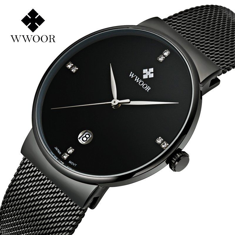 Simple Stylish Luxury WWOOR Stainless Steel Watch //Price: $34.99 & FREE Shipping //     #freeshipping