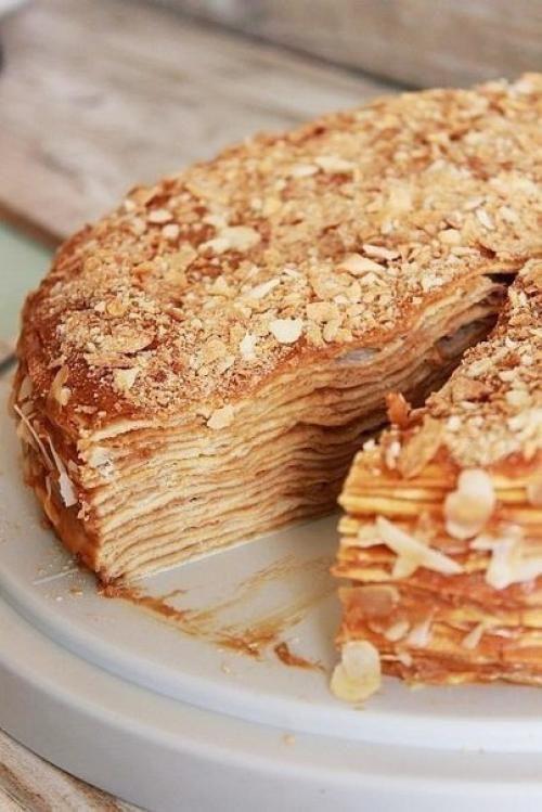 Крепвиль торт рецепт пошагово с фото