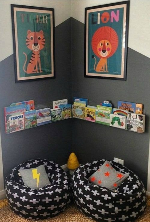 Creative Kids Reading Corner Ideas for the Home images
