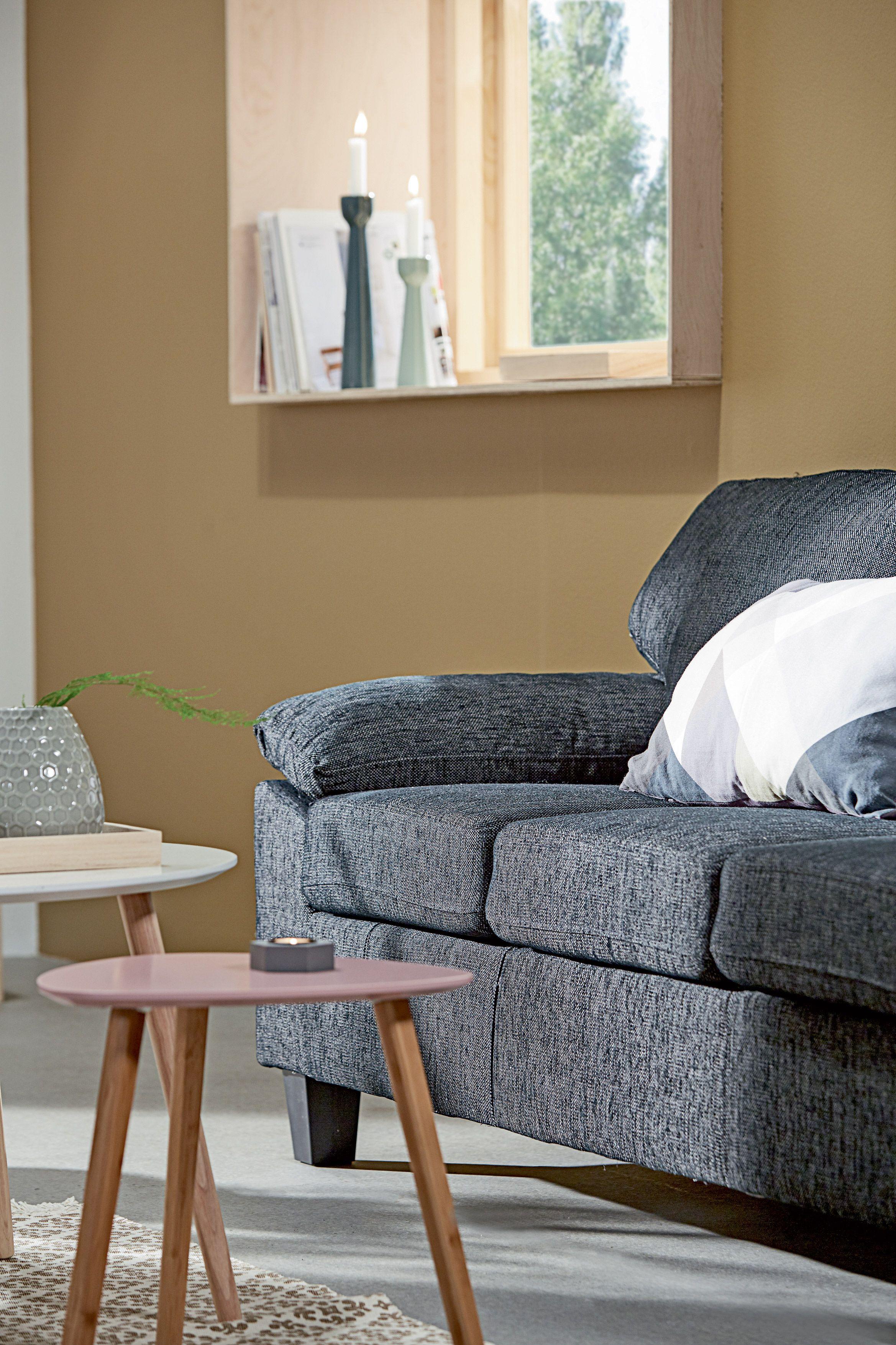 GEDSER sofa TAPS hj¸rnebord rosa detaljer