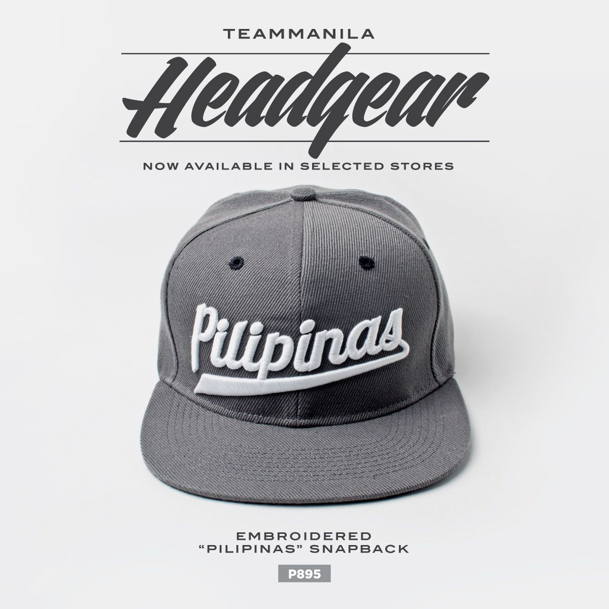 e76c8444a782f0 Embroidered Pilipinas Snapback