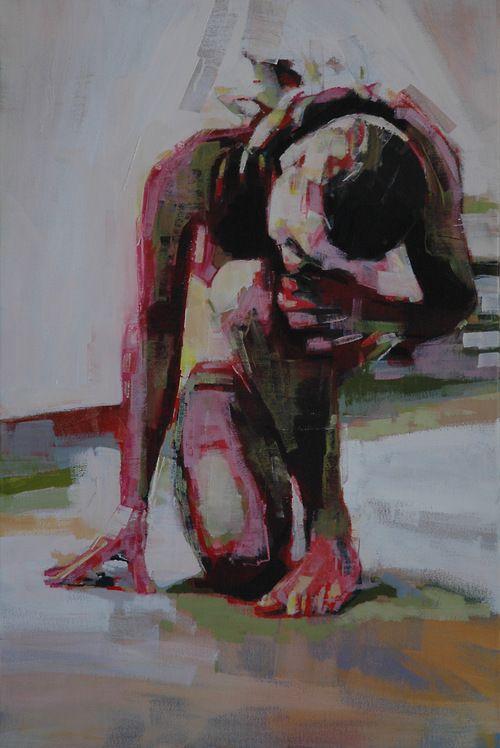 """@Mark Van Der Voort Van Der Voort Horst - """"light around the body no. 14""""# oil on #canvas. 24 x 36"""" 2011"""