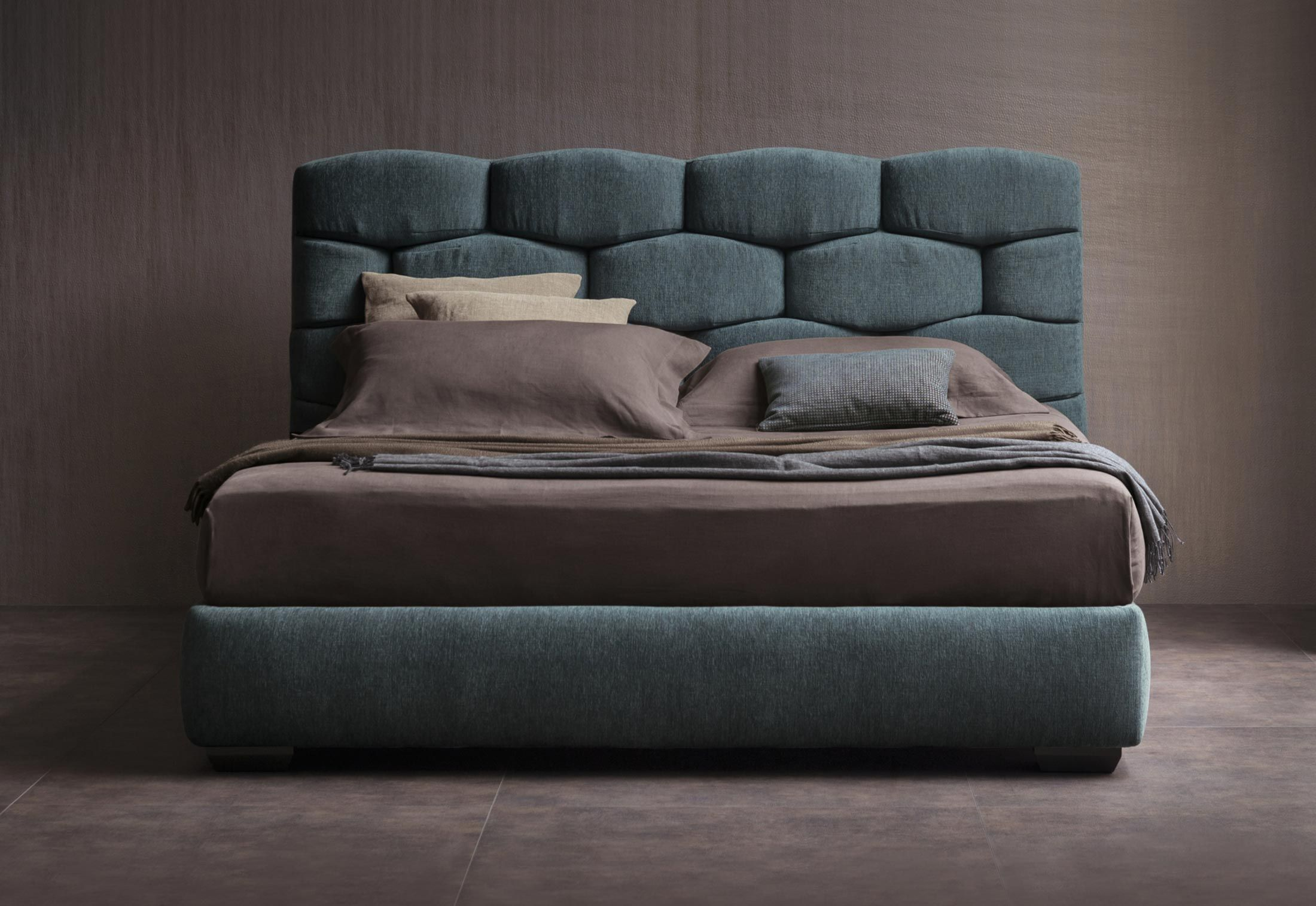 Majal Bed by Carlo Colombo for FLOU | Camas hermosas, Camas king y Camas