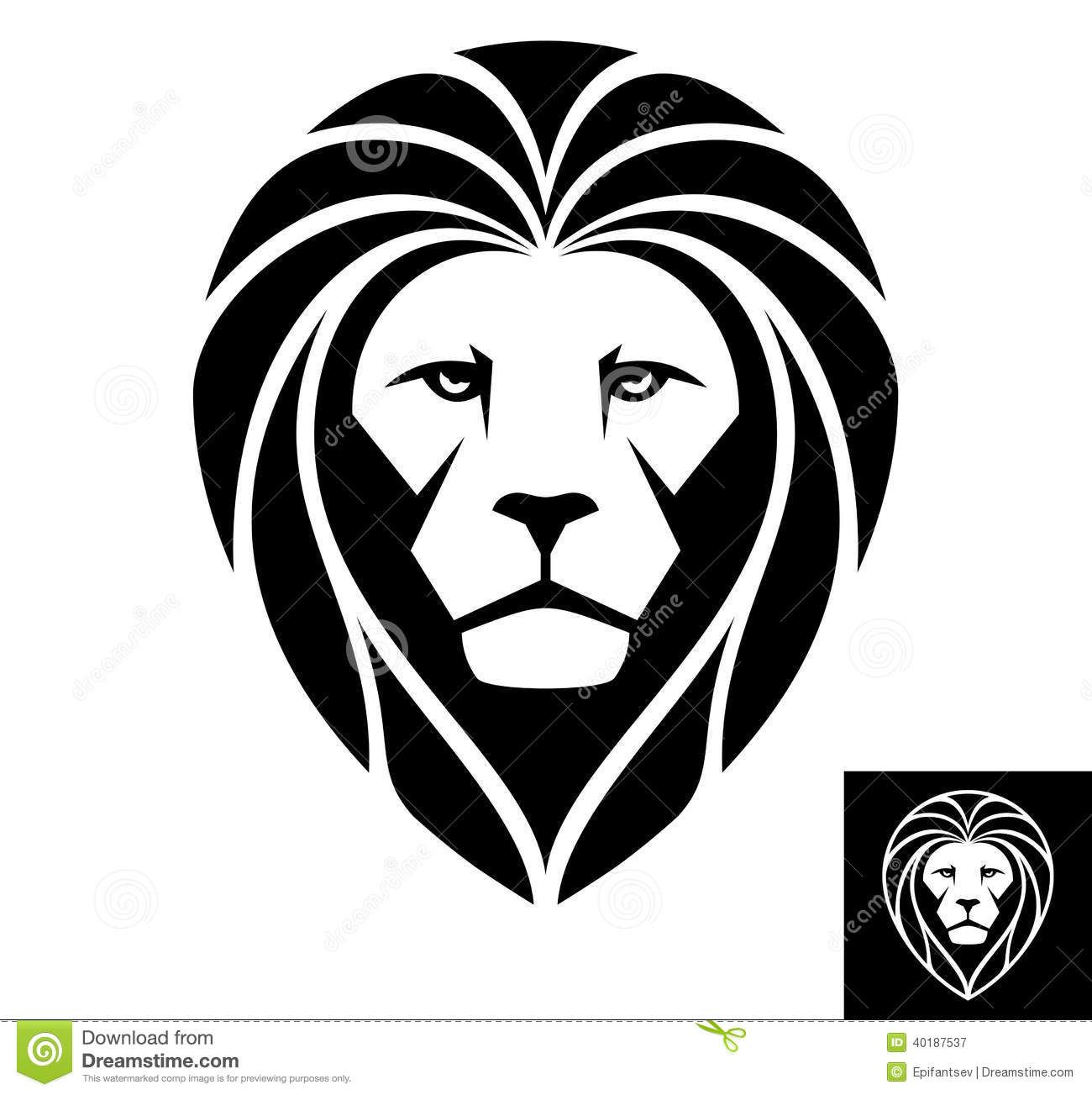 lion head icon illustration download from over 29