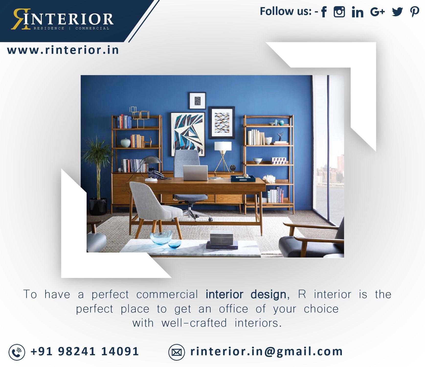 Home Officeinterior Design Ideas: To Have A Perfect Commercial Interior Design , R Interior