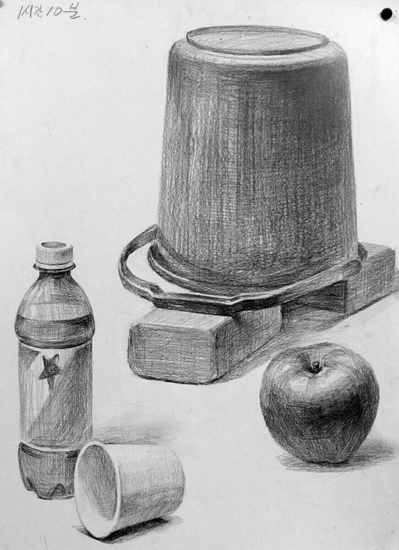 36 Kitchen Utensils Pencil Drawing Ideas