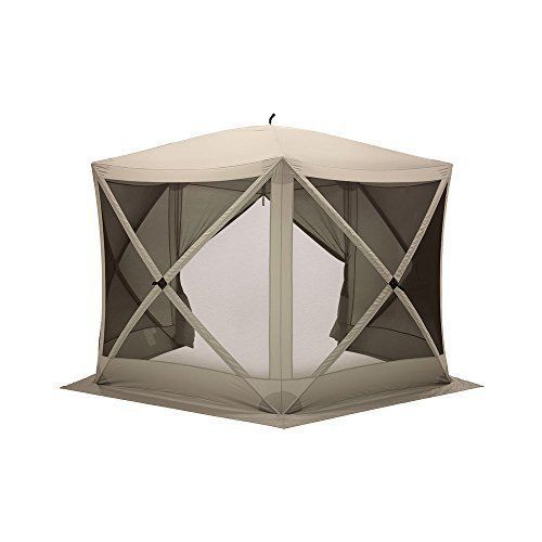 7 X 7 Portable Canopy Gazebo Waterproof Outdoor Curtains For Patio 5pc Furniture With Images Portable Canopy Outdoor Curtains For Patio Screen Tent