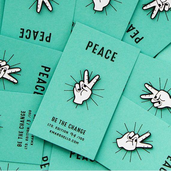 'Peace' Pin