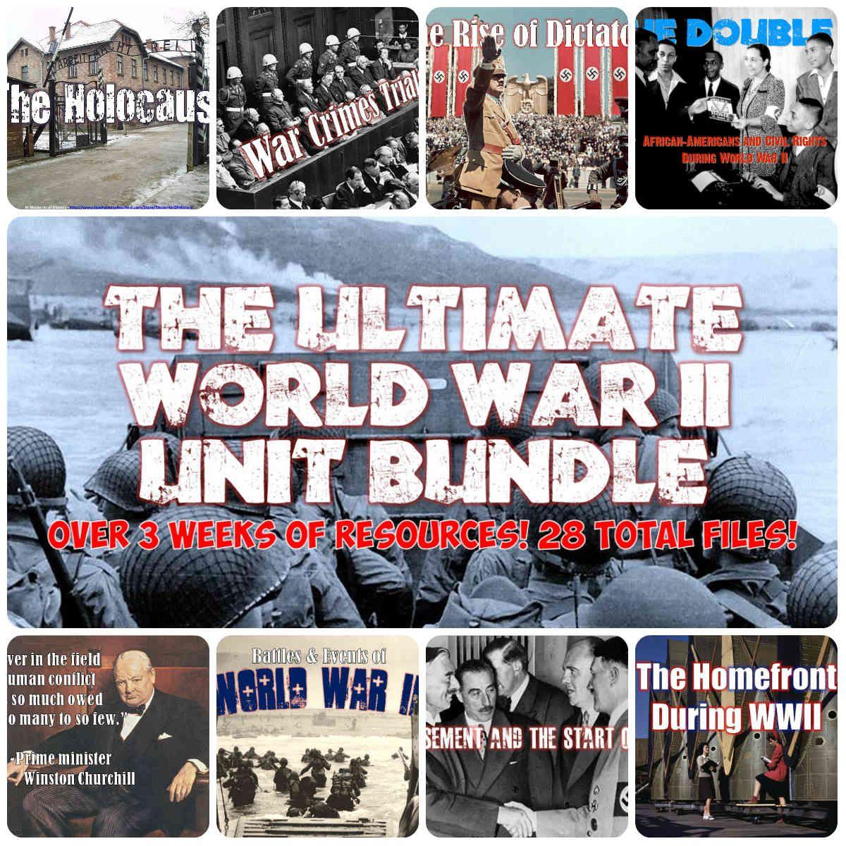 World War 2 Unit Plan Set
