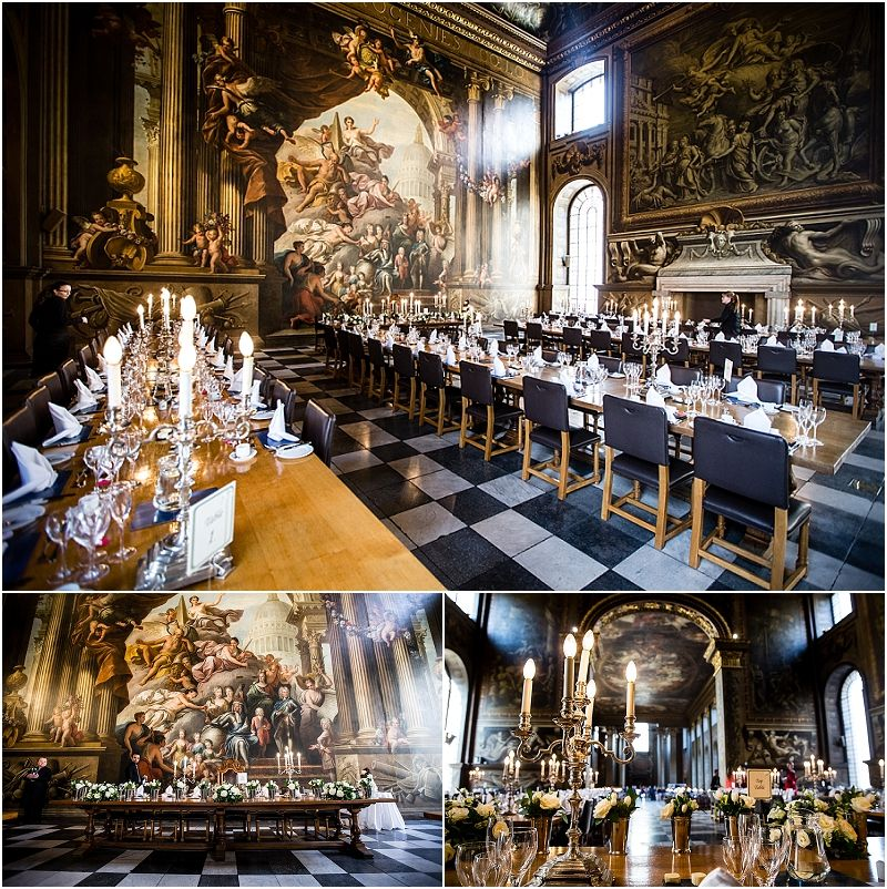 Unique Wedding Venues: The Painted Hall, Greenwich. Stunning And Unique Wedding
