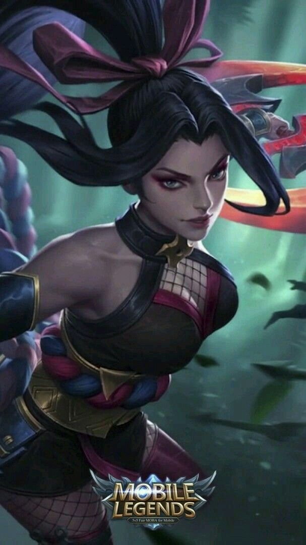 Hanabi_scarlet Flower Hanna Mobile Legend Pinterest Mobile Legends Mobile Legend Wallpaper And Mobile Wallpaper