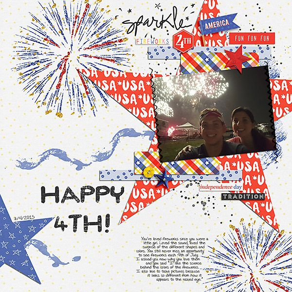 4th Fireworks By Stacia Hall Starry Nights By Amy Martin Spark