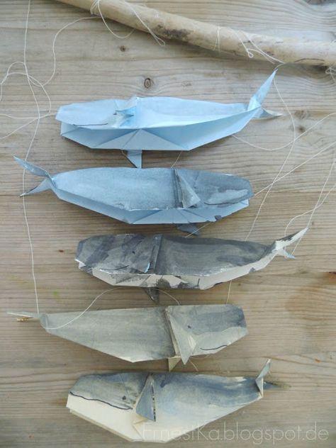 origami wal mobile mehr basteln. Black Bedroom Furniture Sets. Home Design Ideas
