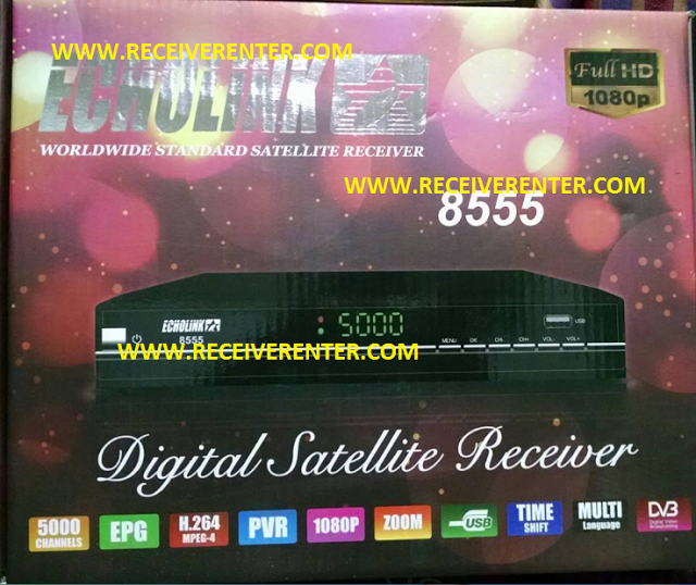 ECHOLINK 8555 HD RECEIVER AUTO ROLL POWERVU SOFTWARE | Places to