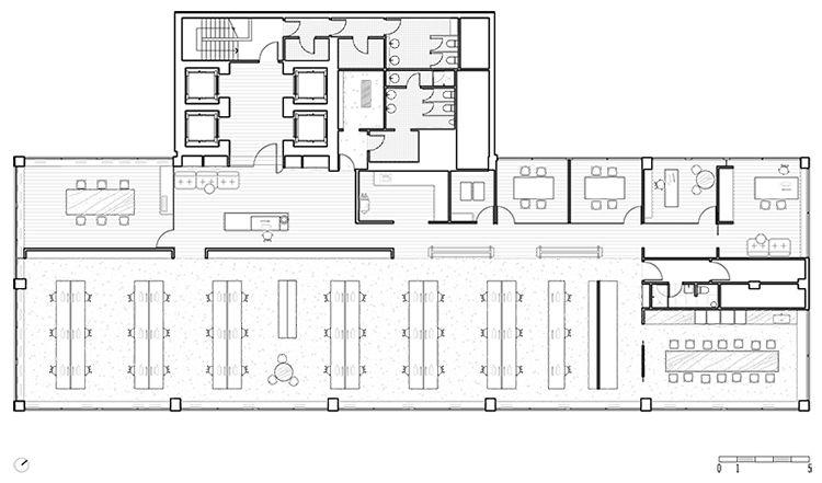 slattery australia office by elenberg fraser melbourne floor