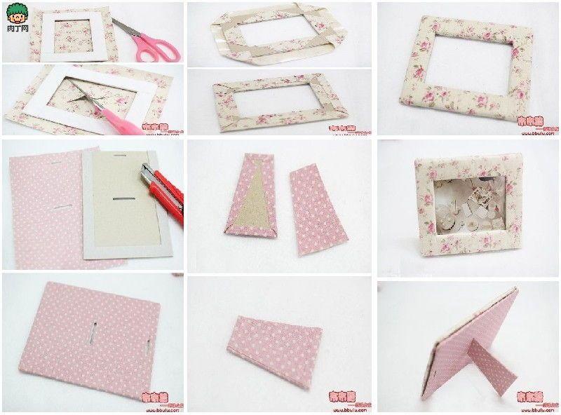 DIY Fabric Picture Frame DIY Projects | UsefulDIY.com | DIY ...