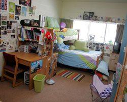 Room arrangement in Lowell at SAU