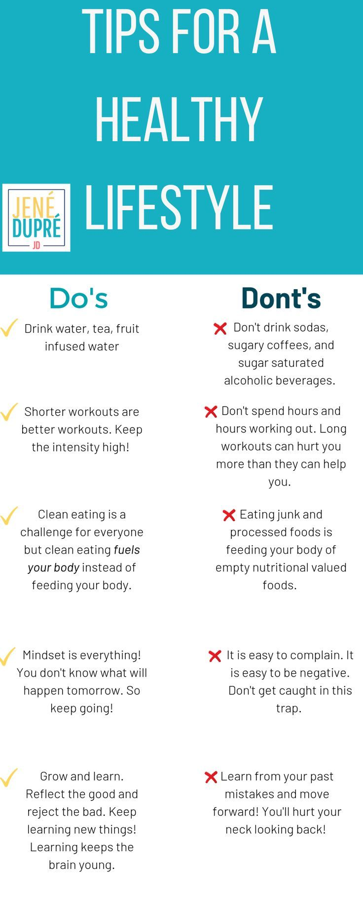 10 Tips for a Healthy Lifestyle! You can see the rest of the tips and have a FREE resource!! Start your healthy journey today! #healthandwellness #healthandfitness #exercise #healthylifestyle #healthylifestyles #fitnesstips #healthtips #healthytips