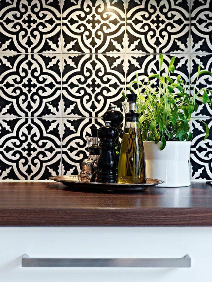 Résultat De Recherche Dimages Pour IDEE CARRELAGE CUISINE MUR - Carrelage mural cuisine avec motifs pour idees de deco de cuisine