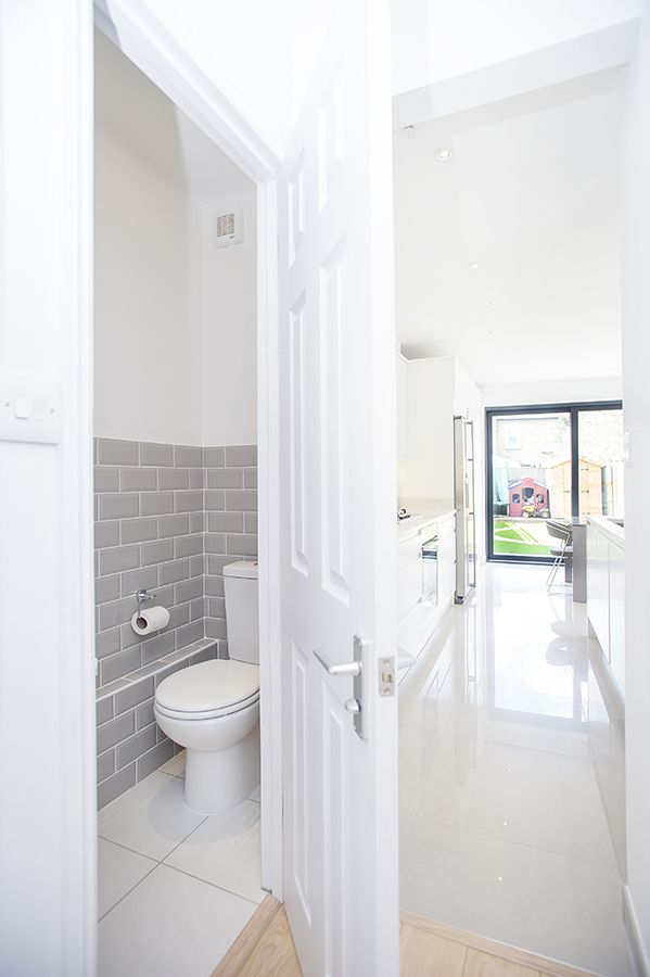 E11 Side Return Extensions Project Buildteam Small Downstairs Toilet Downstairs Toilet Small Toilet Room