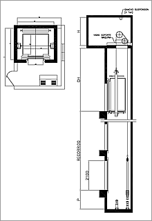 Ascensores Con Sala De Maquinas Comprar En Bogota Ascensores Diseno De Ascensor Plano De Detalle