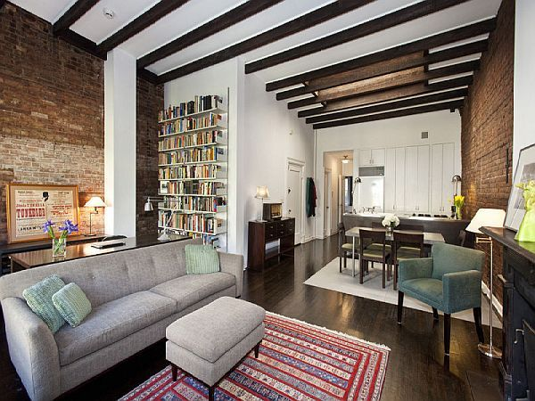 Peaceful village classic apartment downtown manhattan for Loft in manhattan for sale