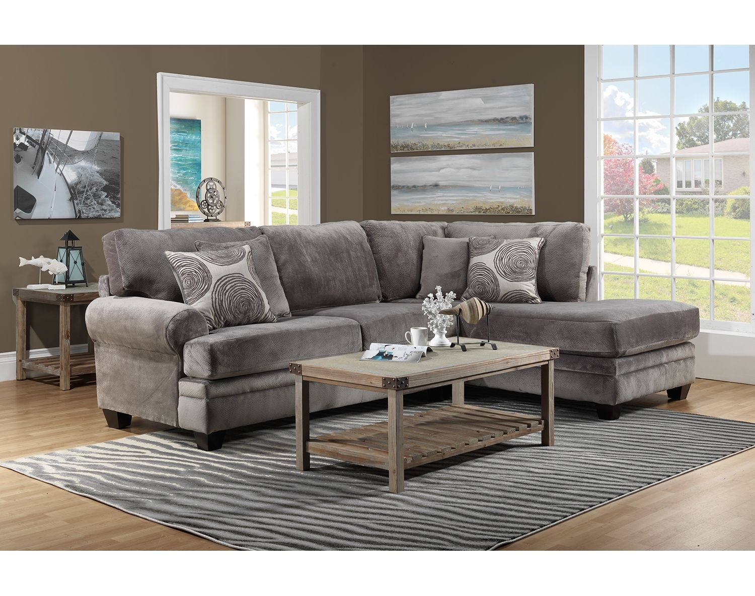Surprising The Lana Sectional Collection Leons Furniture Living Andrewgaddart Wooden Chair Designs For Living Room Andrewgaddartcom