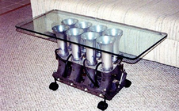 Radial Engine Coffee Table For Sale Table Designs Plans