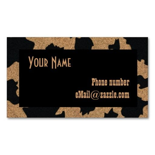 Customizable Western Business Cards Rustic Business Cards Business Cards Cards