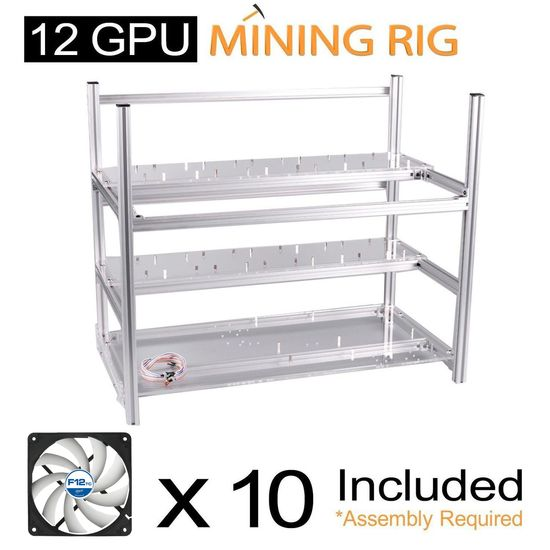 Mining Case 12 Gpu Fan Arctic F12 Tc Cooling Afaco 120t0 Gba01 By Arctic X 10 Arctic Fan Open Frame Bitcoin Mining