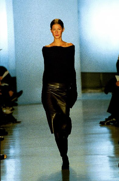 Donna Karan FW 99 | Donna Karan | Pinterest | Gisele bündchen