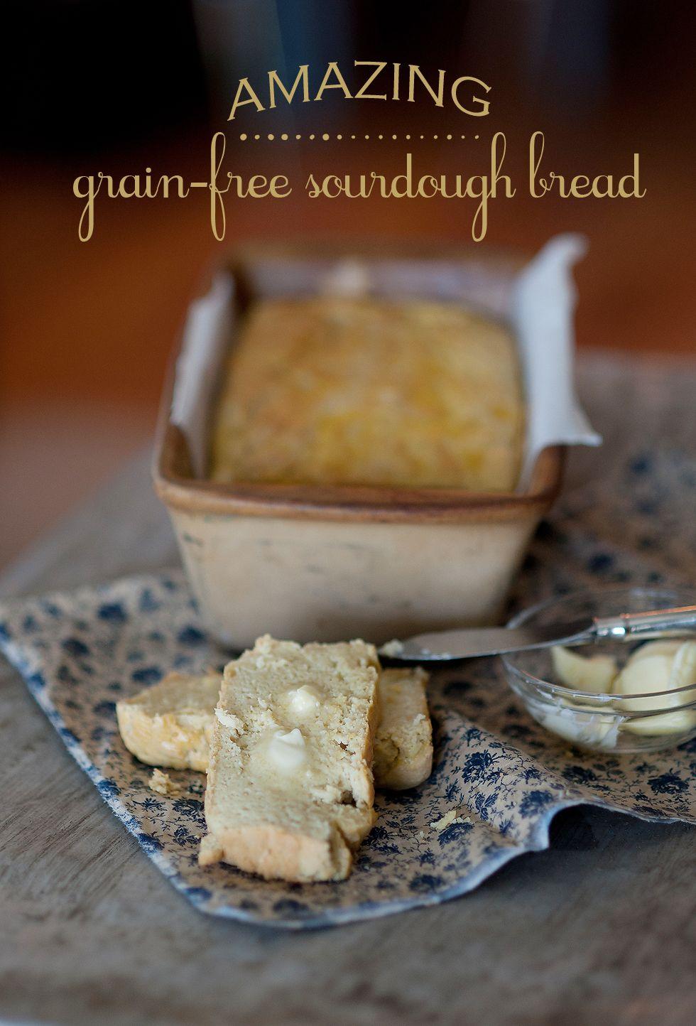 I found it! A recipe for Grain Free Sourdough Bread!!! 2 3/4 cups ...