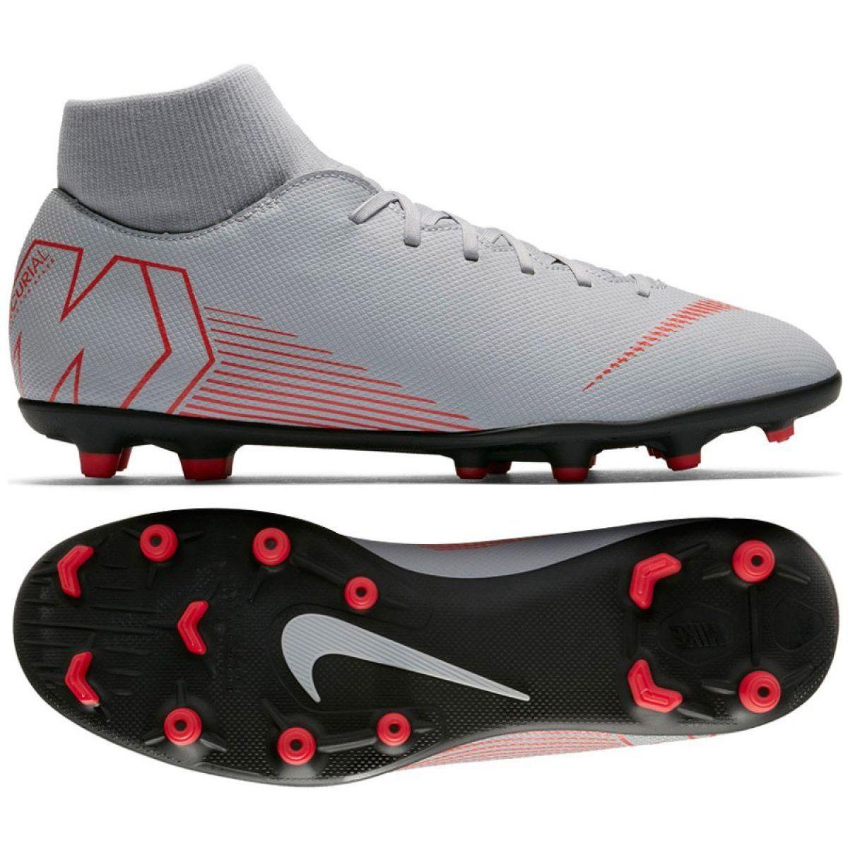 Buty Pilkarskie Nike Mercurial Superfly 6 Club Mg M Ah7363 060 Szare Wielokolorowe Mens Nike Shoes Football Shoes Nike Shoes