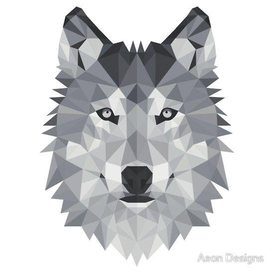 geometric wolf - Google Search | CRAFTS & DIY | Pinterest ...