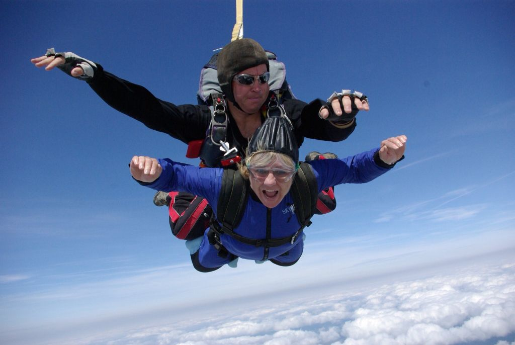 Tandem skydive. Enjoyed it so much have done two TICKED