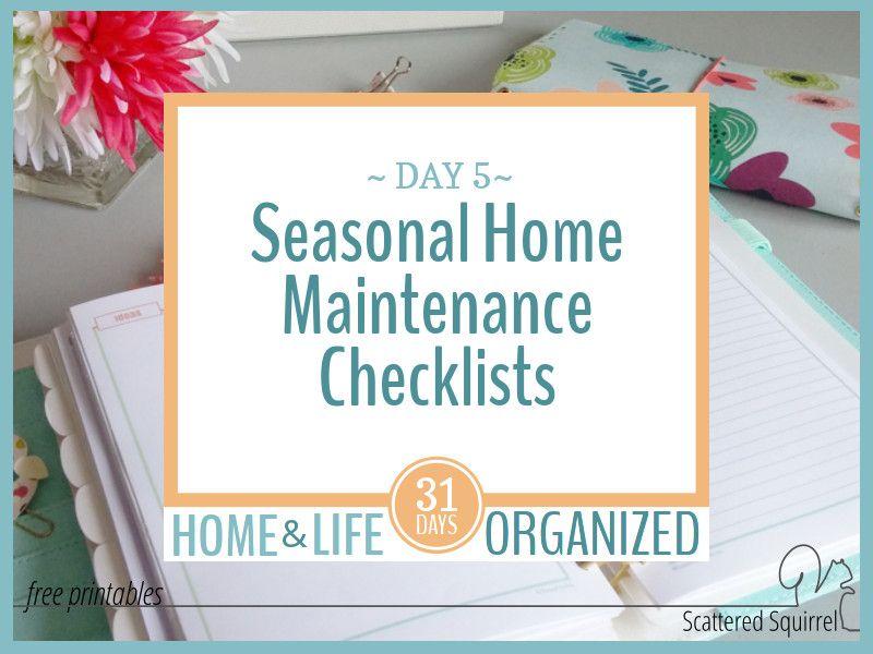 Photo of Saisonale Checklisten für die Hausinstandhaltung, um das Leben einfacher zu machen