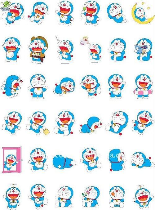 Doraemon Sticker For Wechat Free Doraemon Sticker For