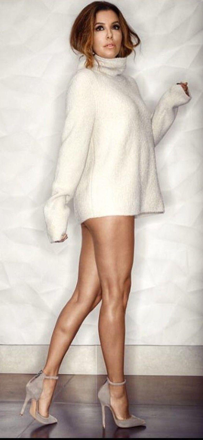 Eva Longoria Beautiful Womens Sweaters Eva Longoria Fashion