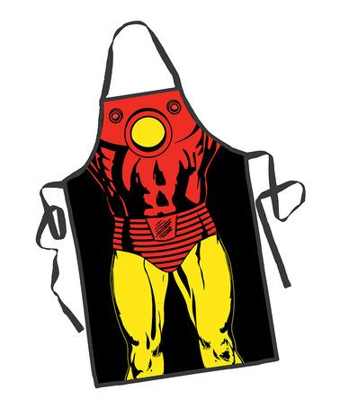 Look what I found on #zulily! Iron Man Apron - Adult #zulilyfinds