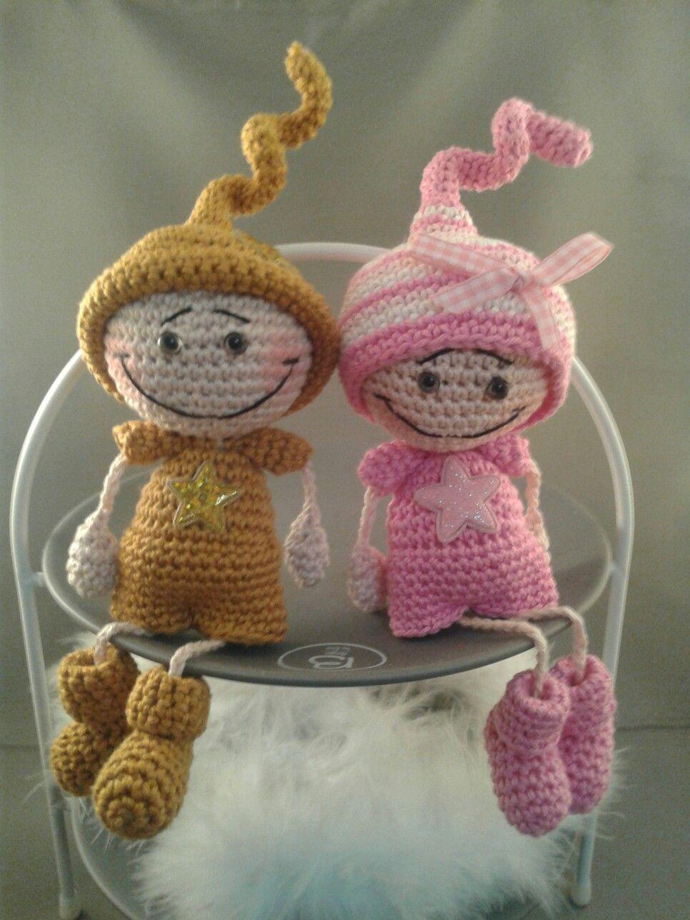 Pin von Mies van den Ham auf Haken popjes - crochet dolls ...